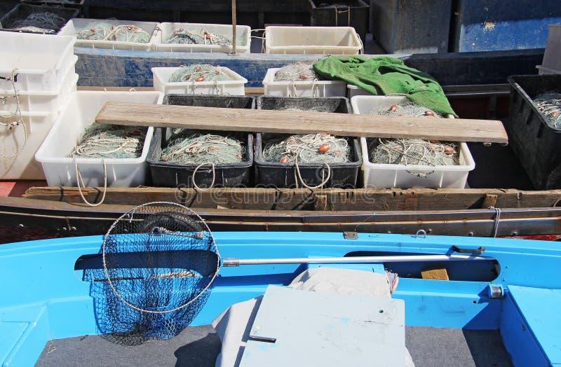 Filets de pêche 2 photographie stock libre de droits