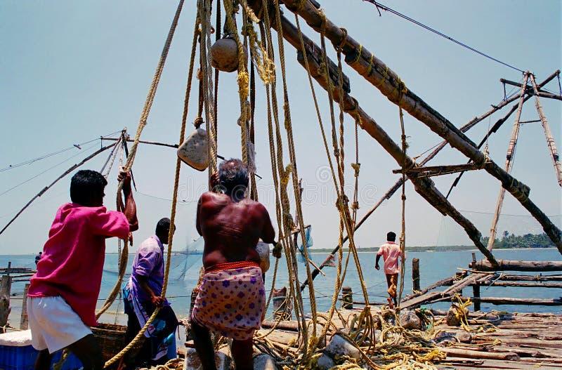 Filets de pêche chinois, #1 images libres de droits