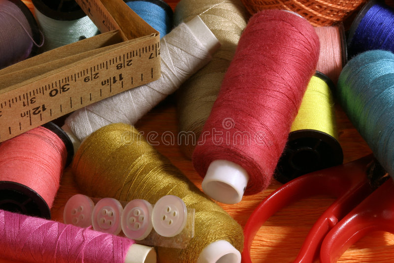 Filetti di colore. immagini stock
