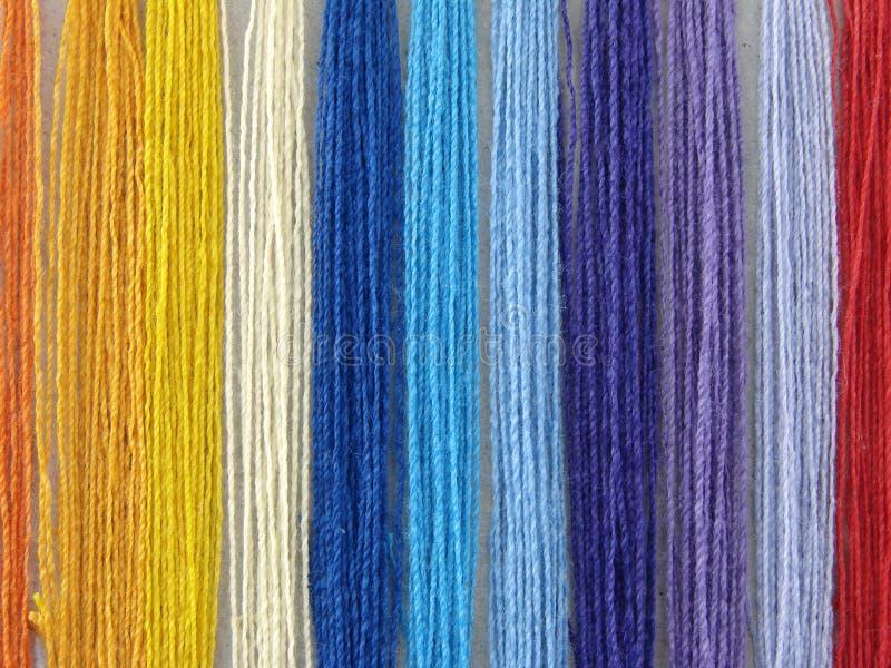 Filetti multicolori immagine stock