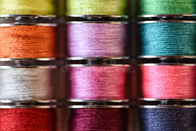 Filetti multicolori fotografia stock