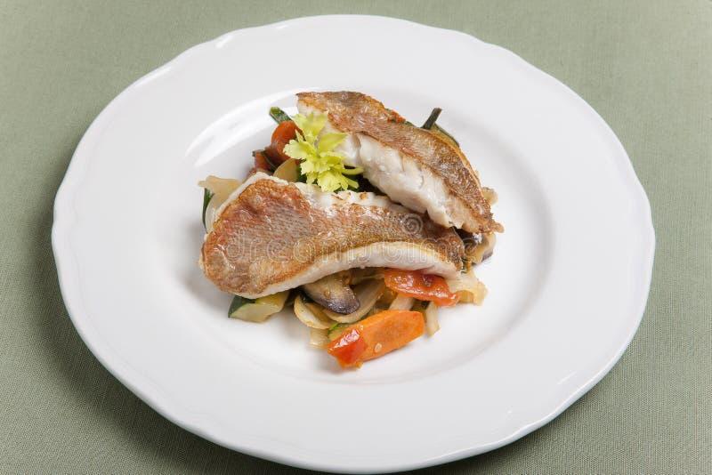 Filetto di pesce fotografie stock libere da diritti