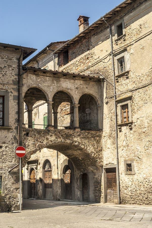 Filetto (Toscana) immagine stock libera da diritti