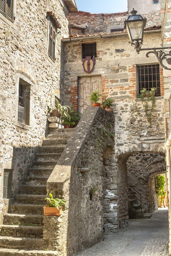 Filetto (Tuscany) - Antyczna wioska zdjęcia royalty free
