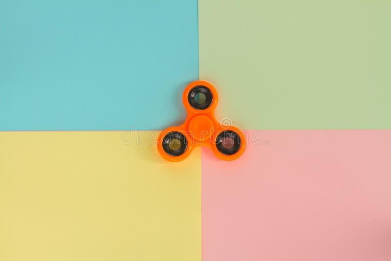 Fileur de personne remuante, jouet de détente populaire, conception générique photographie stock