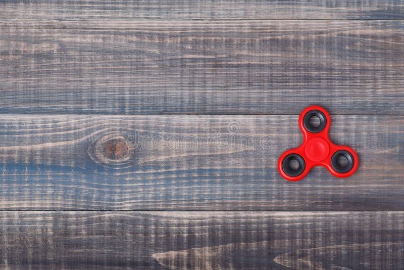 Fileur rouge sur la table photo libre de droits