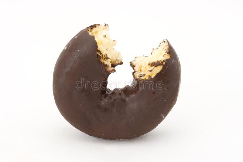 Filhós do chocolate fotos de stock