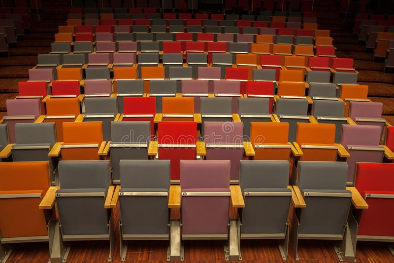 Filharmonia wielki bursztyn fotografia stock