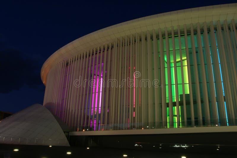 Filharmonisch Luxemburg stock fotografie