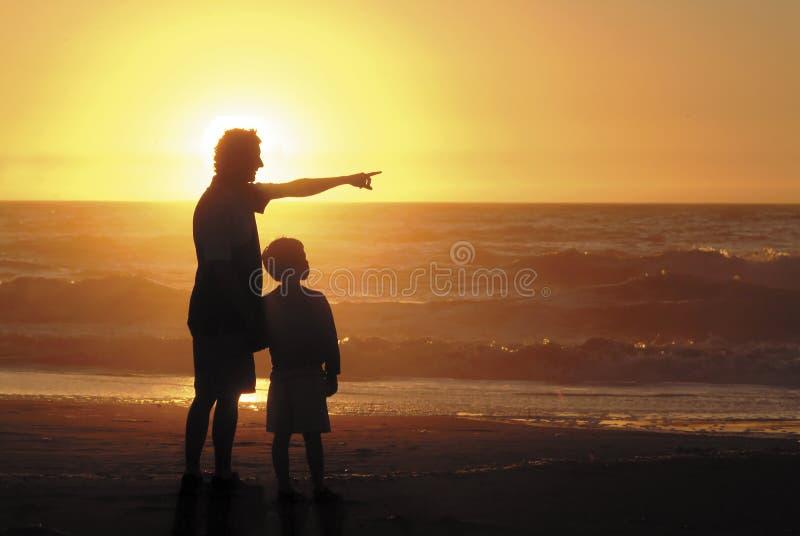 Filho e pai fotos de stock royalty free