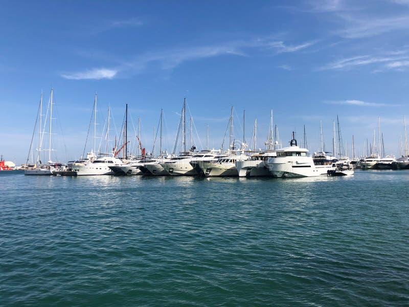 Filho Servera Mallorca do porto do porto de Majorca Cala Bona em Balearic Island de spain Playa de Formentor Cala Pi de la Posada imagens de stock