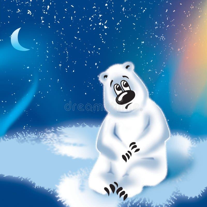 Filhote de urso ilustração do vetor