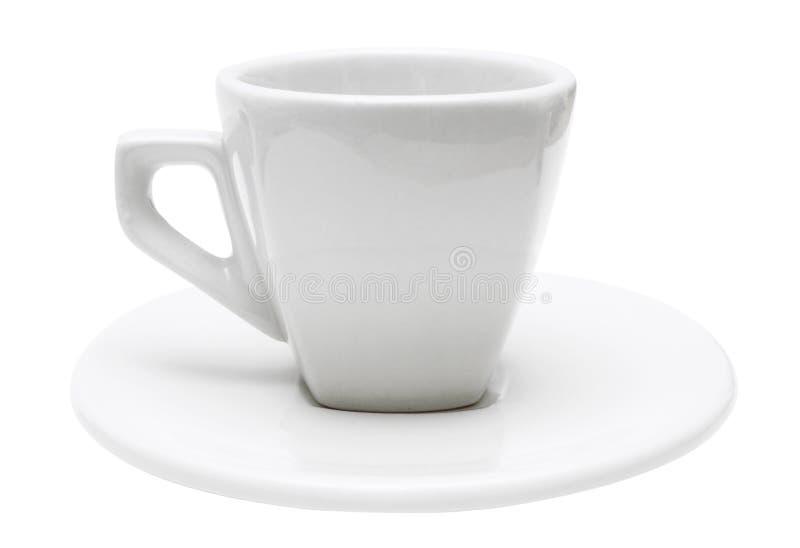 filiżankę espresso ścieżki obejmować pojedynczy white obraz royalty free