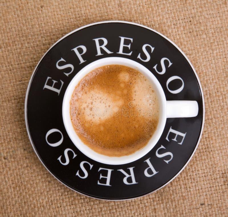 filiżankę espresso obrazy stock