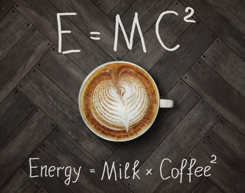 Filiżanka energetyczna kawa fotografia stock