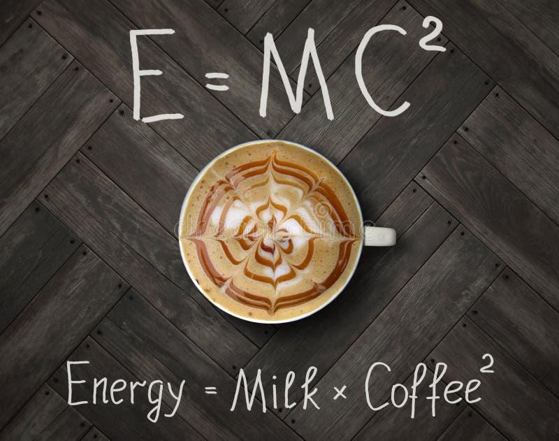 Filiżanka energetyczna kawa 2 zdjęcie stock