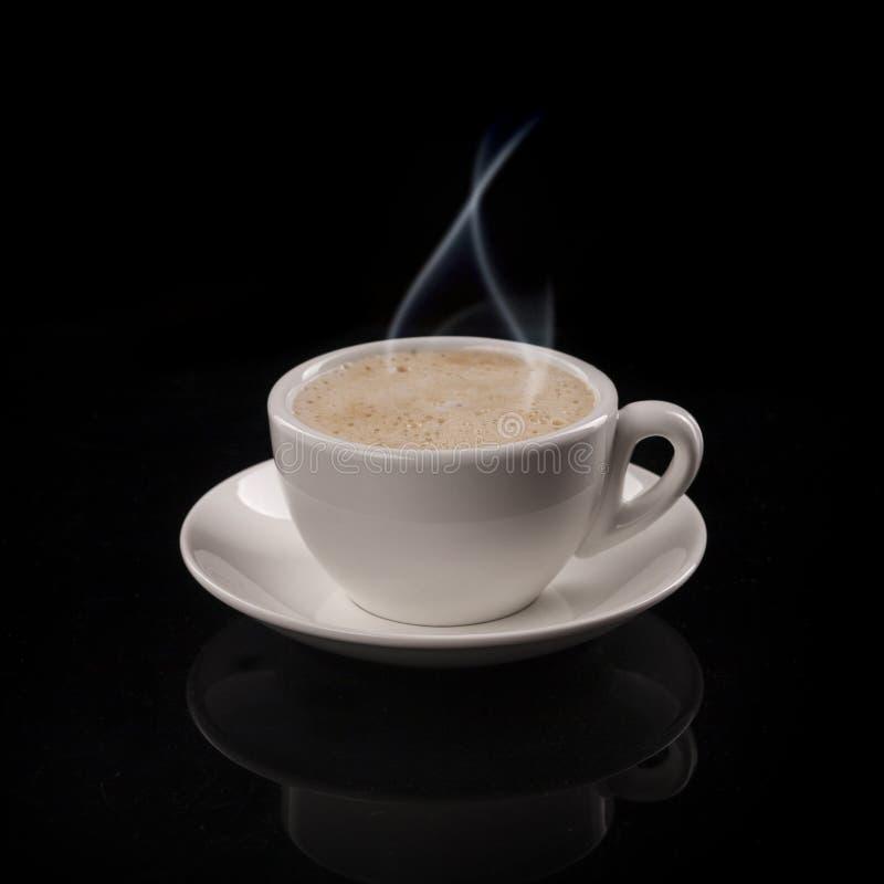 Filiżanka gorąca kawa zdjęcie royalty free