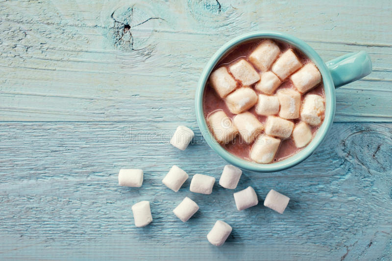 Filiżanka gorący kakao zdjęcia stock