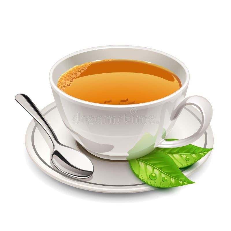 Filiżanka herbata ilustracja wektor