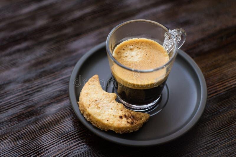 Filiżanka kawa espresso obraz royalty free