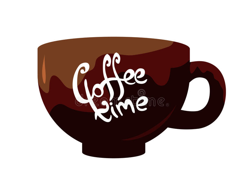 Filiżanka kawy royalty ilustracja