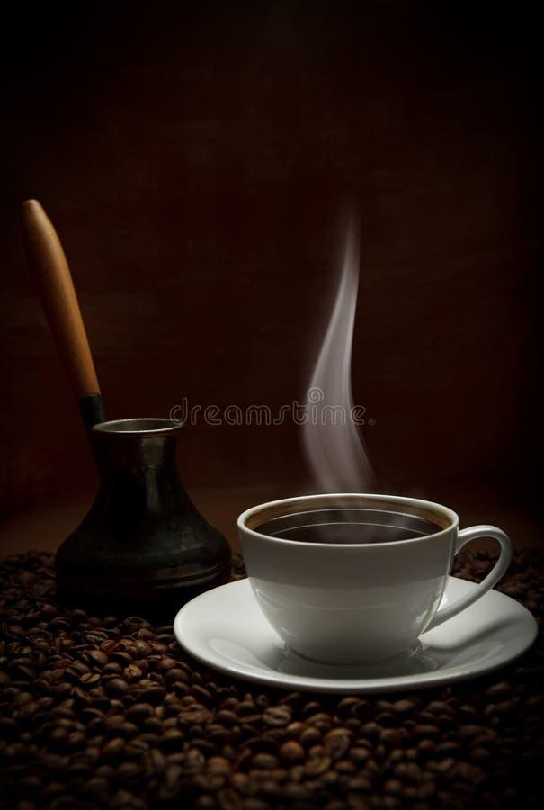 Filiżanka orientalna kawa obraz stock
