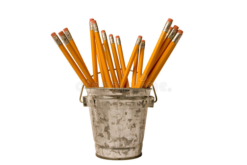 filiżanka właściciela ołówki zdjęcie stock