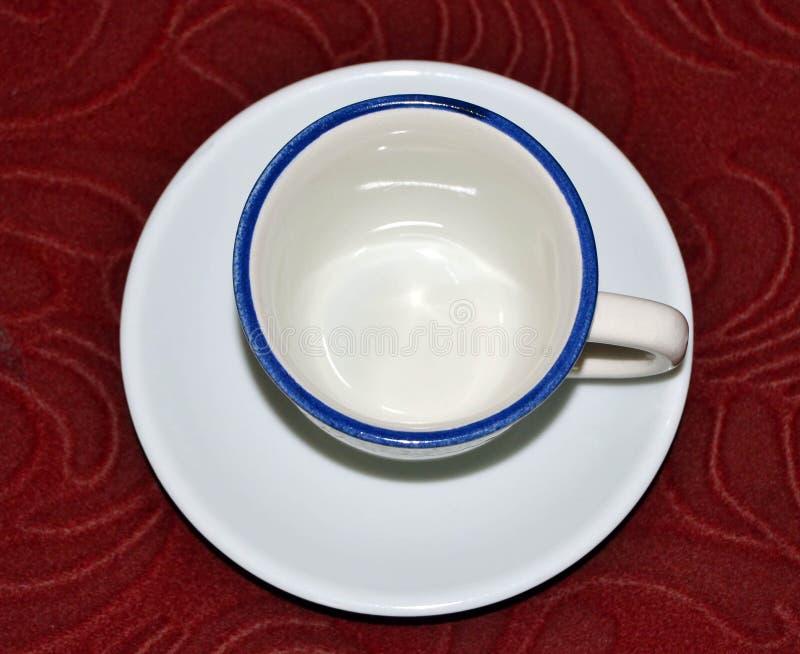 filiżanka white fotografia stock