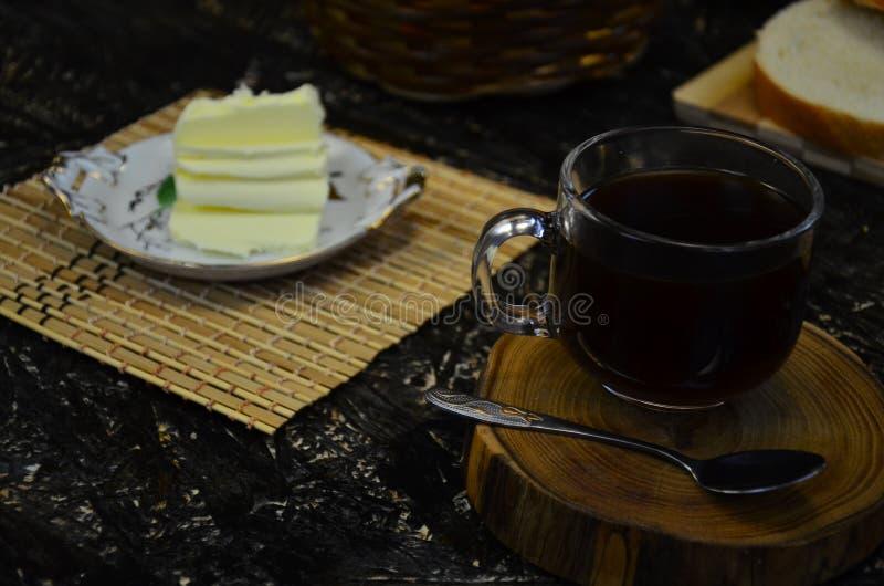 filiżanki czarny herbata obrazy royalty free