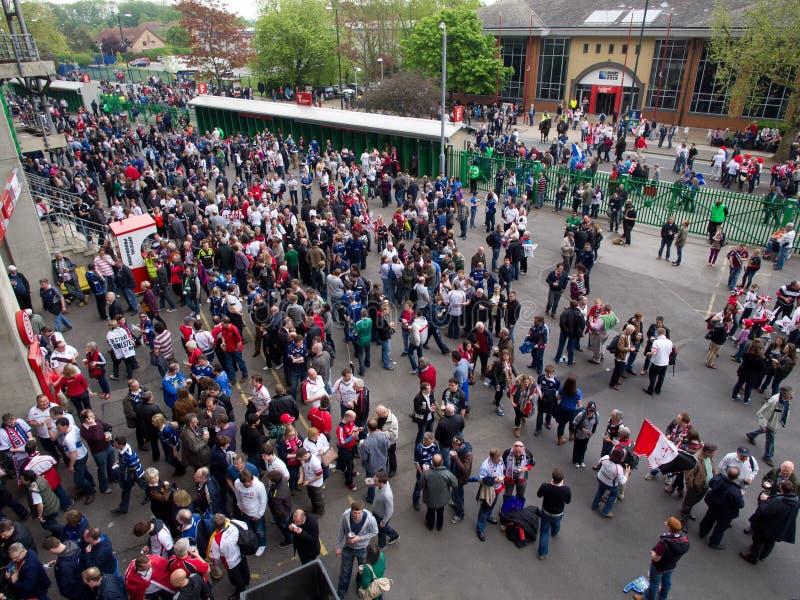 filiżanki europejski definitywny Heineken rugby zjednoczenie zdjęcia royalty free