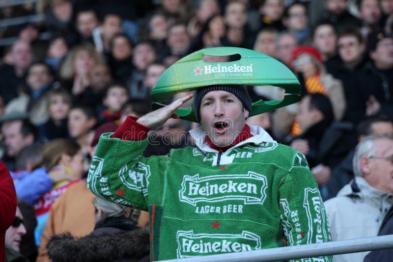 filiżanki Heineken zapałczany Munster rugby usap vs obrazy royalty free