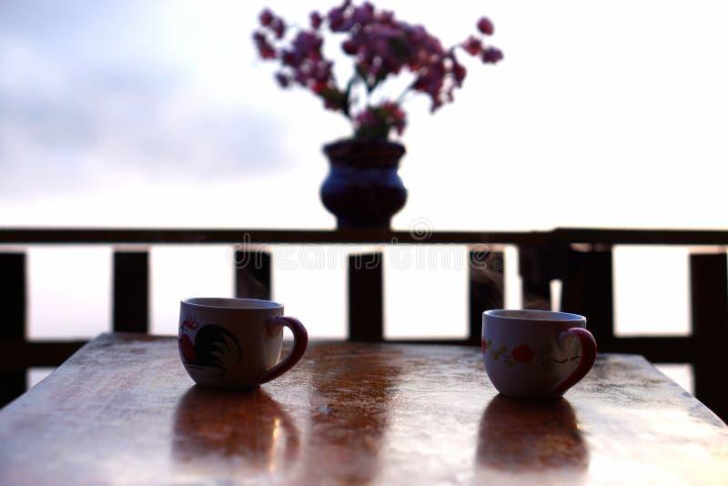 2 filiżanki herbata obraz stock