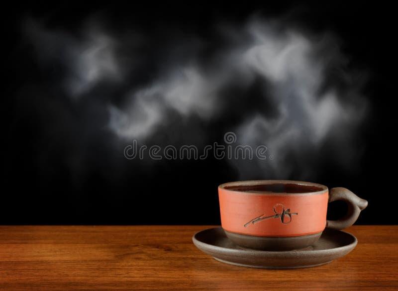 filiżanki herbata gorąca jeden obrazy stock