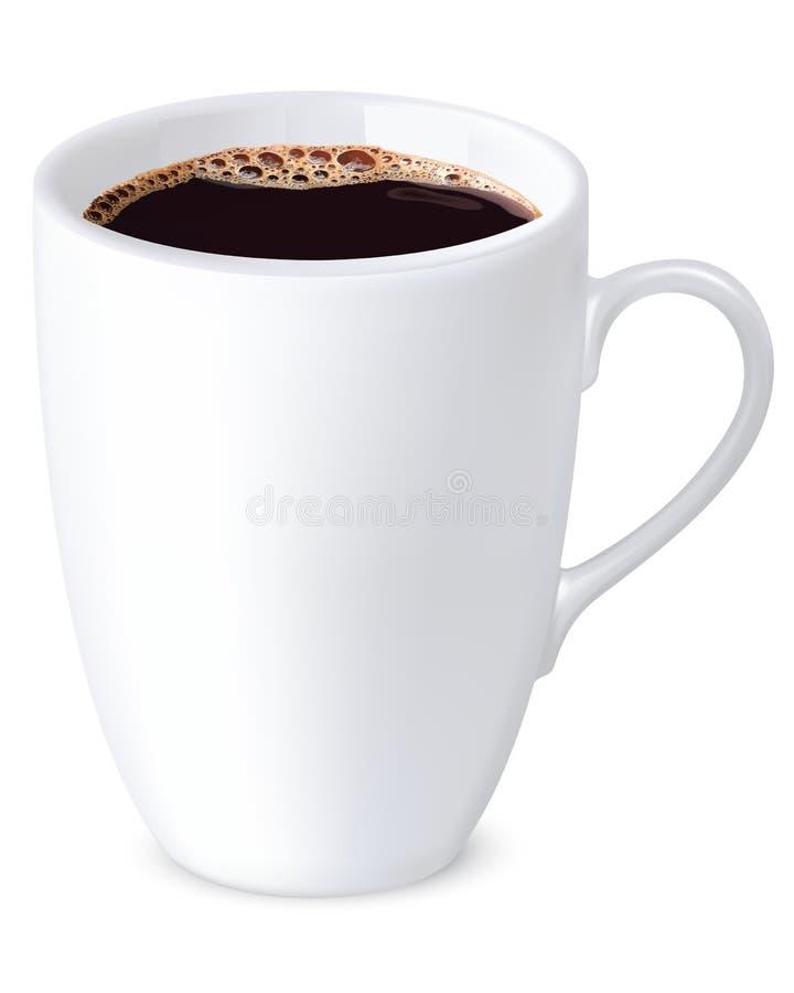 Filiżanki kawa. Wektorowa ilustracja royalty ilustracja