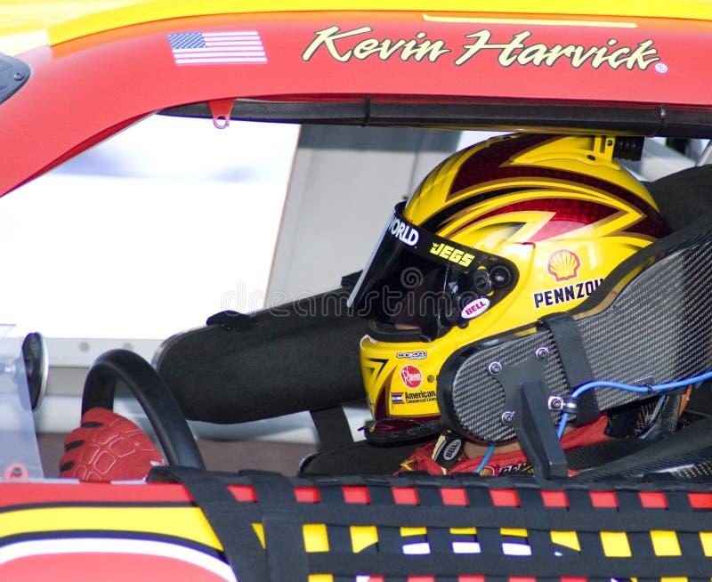 filiżanki kierowcy harvick Kevin nascar fotografia royalty free