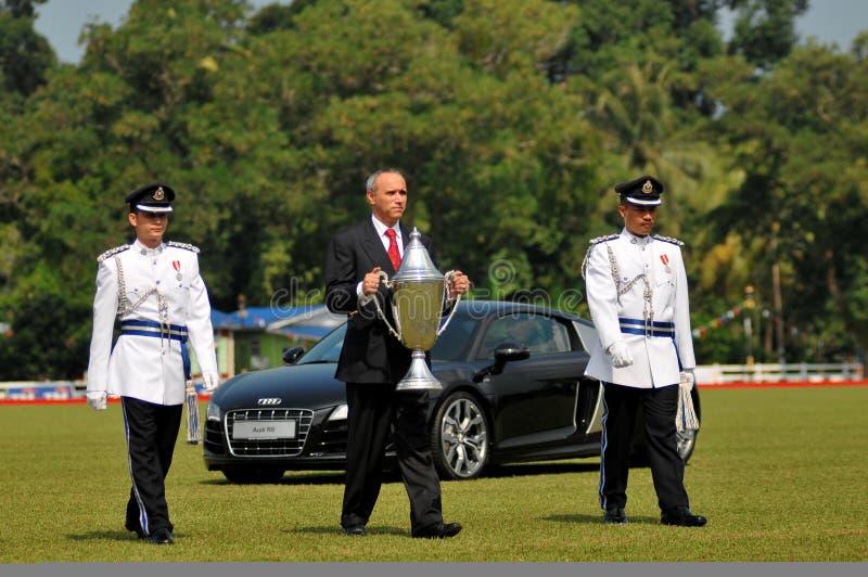 filiżanki Malaysia trofeum obraz stock
