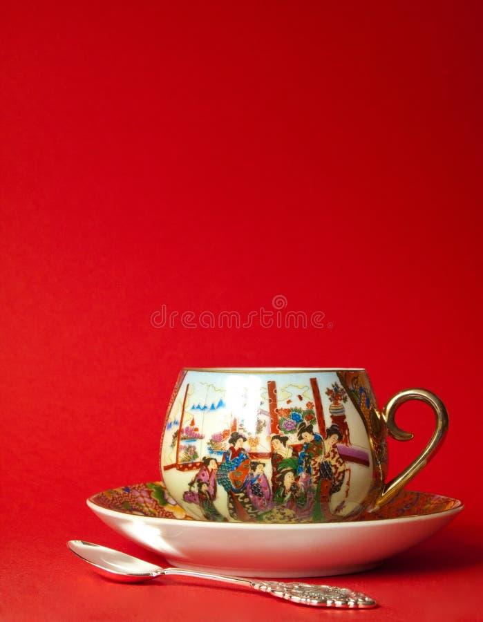 filiżanki porcelany herbata obrazy royalty free
