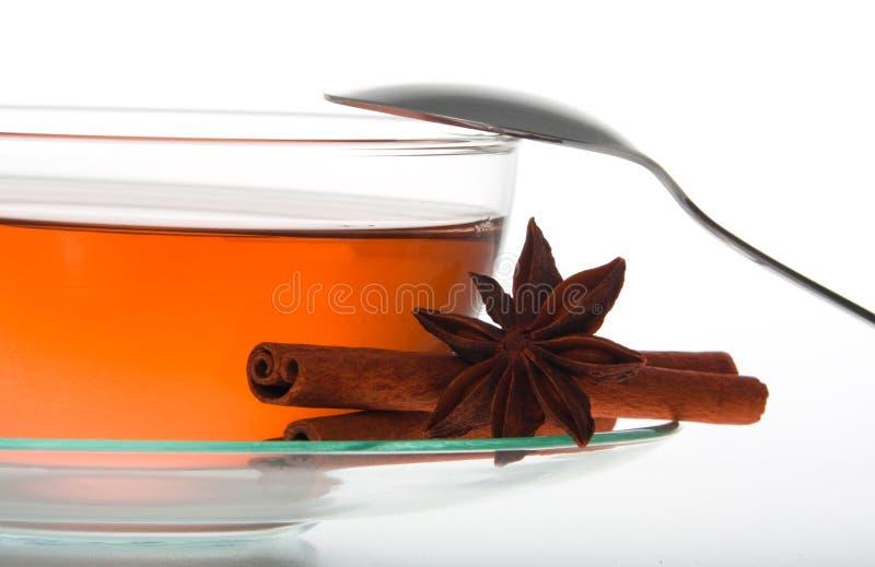 filiżanki szkła herbata fotografia royalty free
