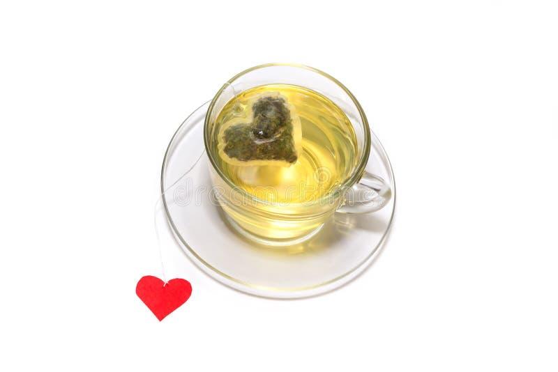 Download Filiżanka herbata z sercem obraz stock. Obraz złożonej z dzień - 28958237