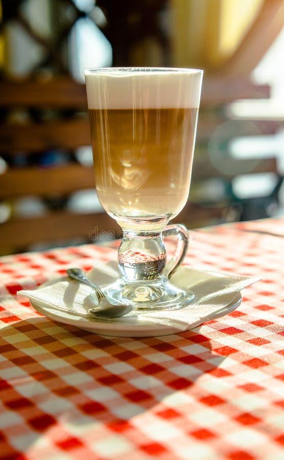 Fili?anki kawy latte zdjęcie stock