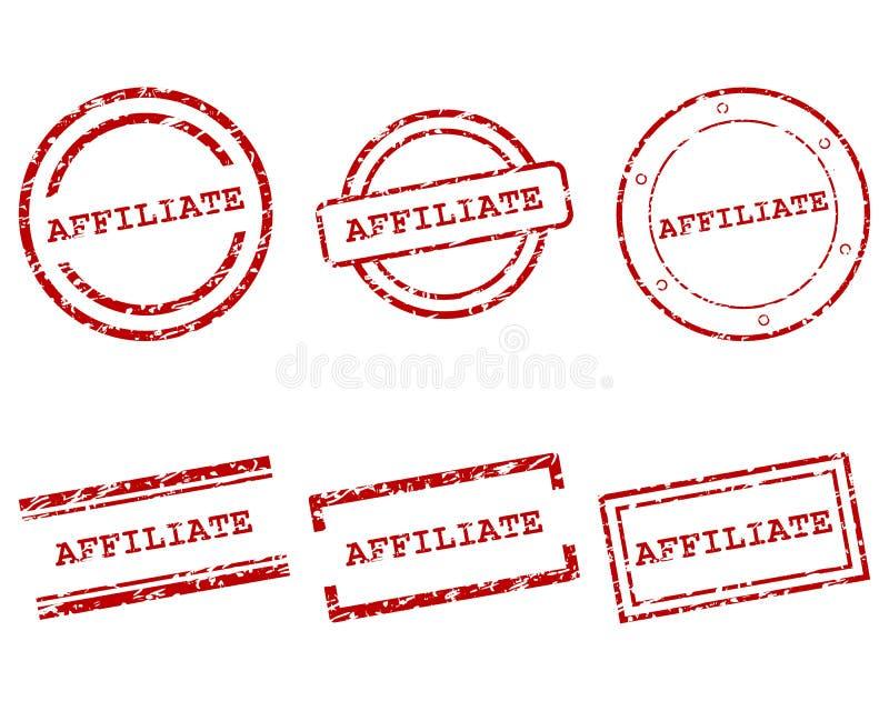 Filia znaczki ilustracja wektor