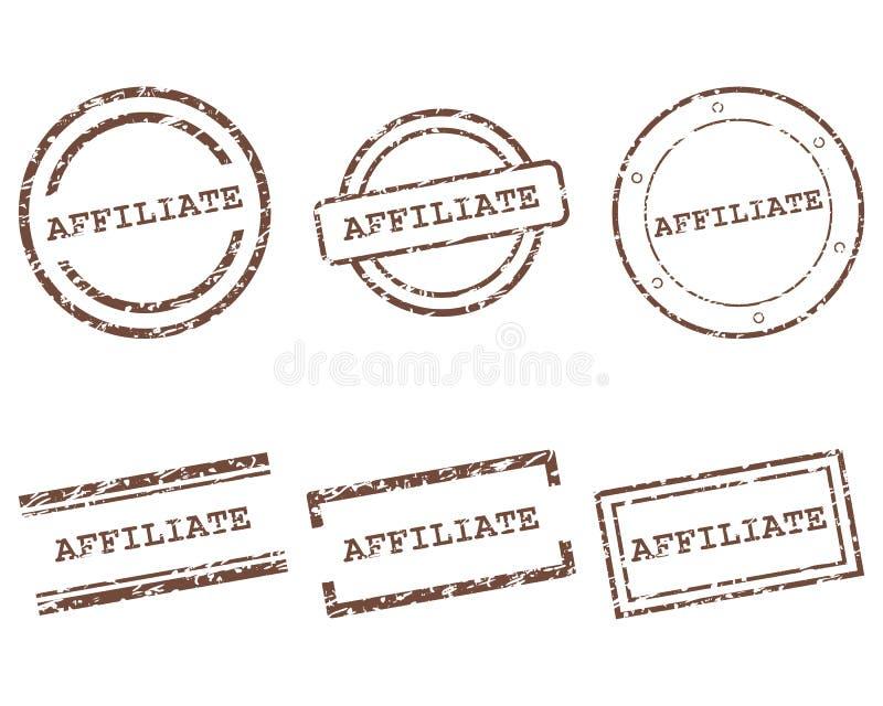 Filia znaczki royalty ilustracja