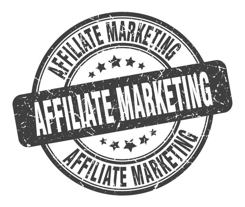 filiaal marketing zegel stock illustratie
