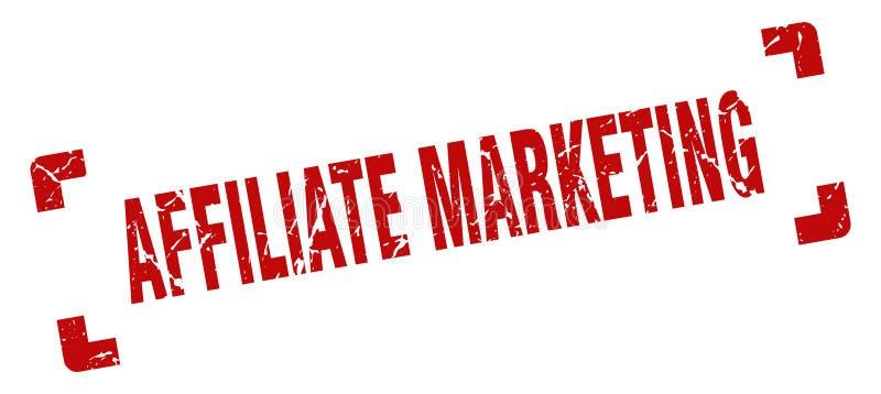 filiaal marketing zegel vector illustratie