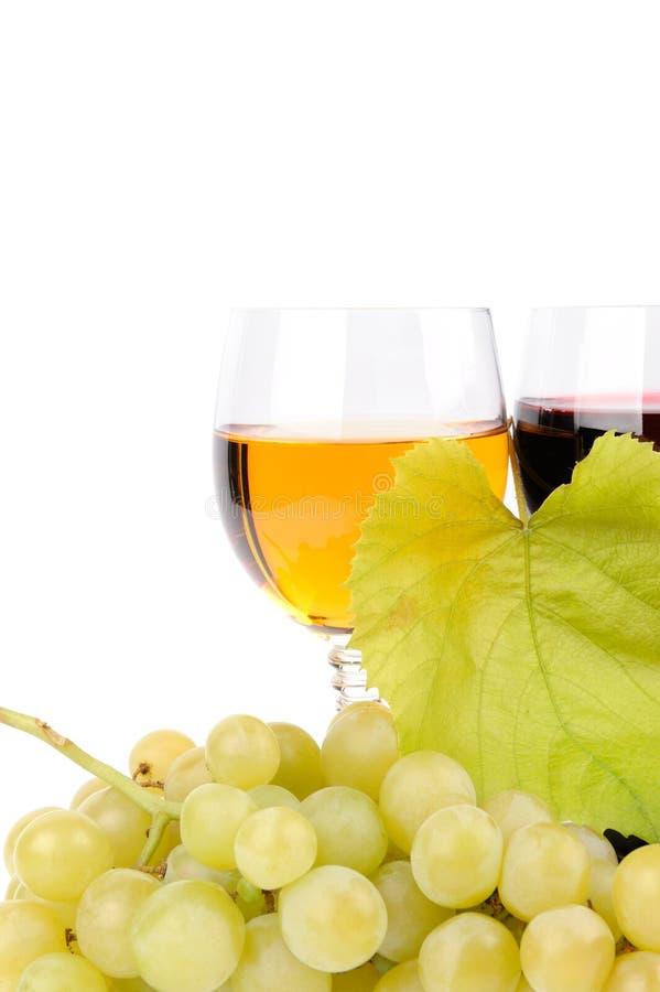 Filial das uvas e do vidro do vinho
