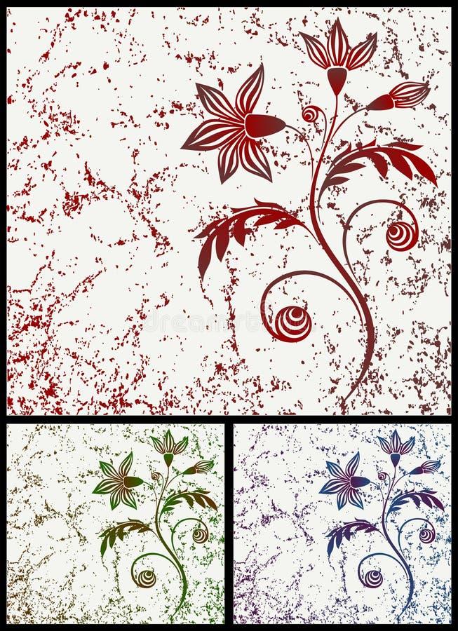 Filial do anemone ilustração royalty free