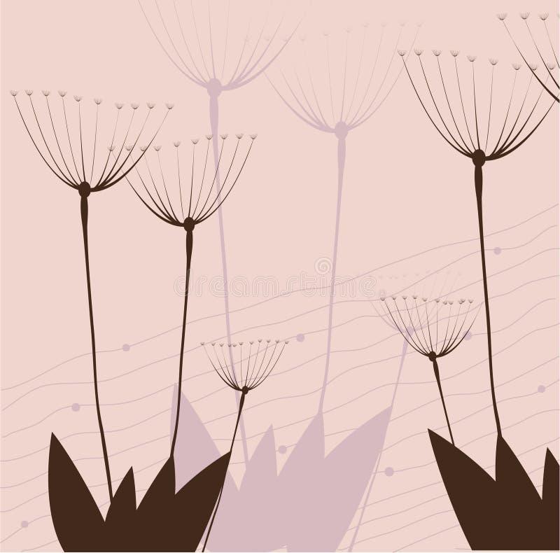 Filiale di una pianta illustrazione vettoriale