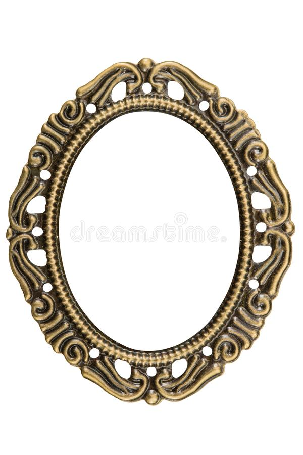 Filigraan in de vorm van een kader, decoratief element voor handw stock foto