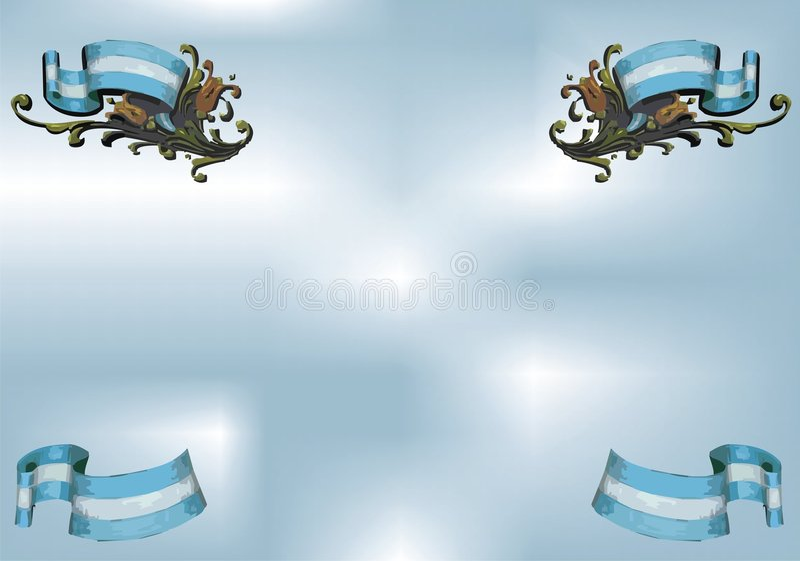 filigrana royalty ilustracja