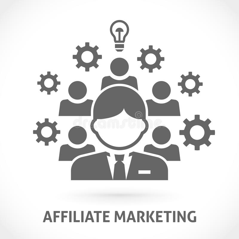 Filii sieci marketingowa wektorowa ilustracja ilustracji